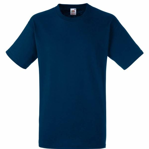 Fruit of the Loom Heavy Cotton T - Navy-2