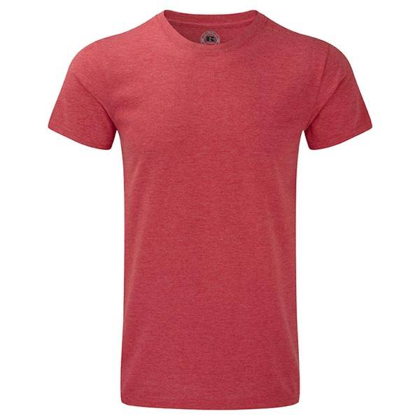 Russell Athletic Mens HD Tee - Red  - Size: 165M - Color: punainen