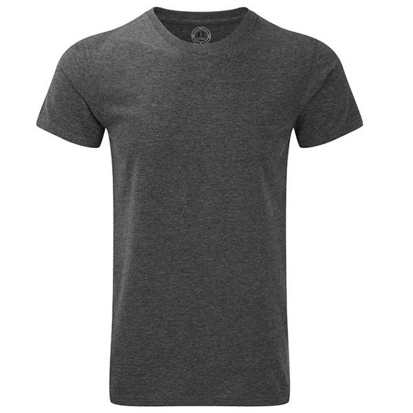 Russell Athletic Mens HD Tee - Grey  - Size: 165M - Color: harmaa