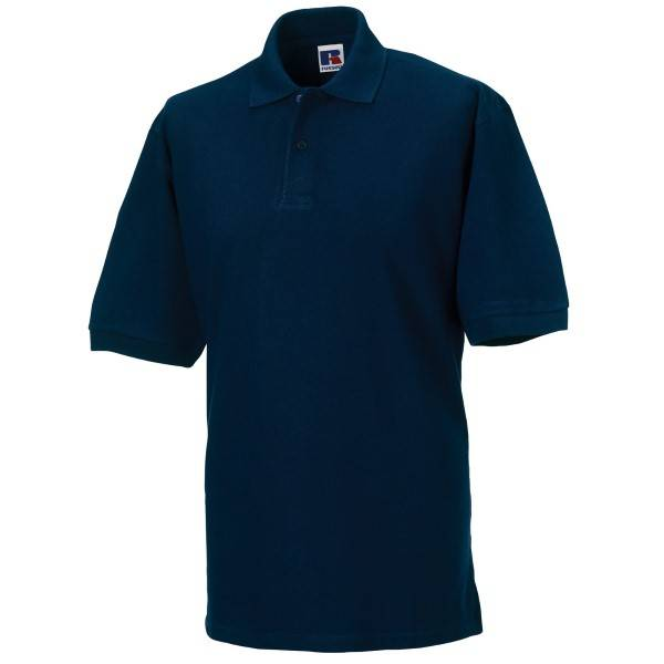 Russell Athletic M Classic Cotton Polo - Darkblue  - Size: 569M - Color: tummansin.