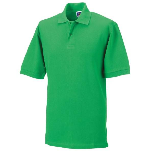 Russell Athletic M Classic Cotton Polo - Green  - Size: 569M - Color: vihreä