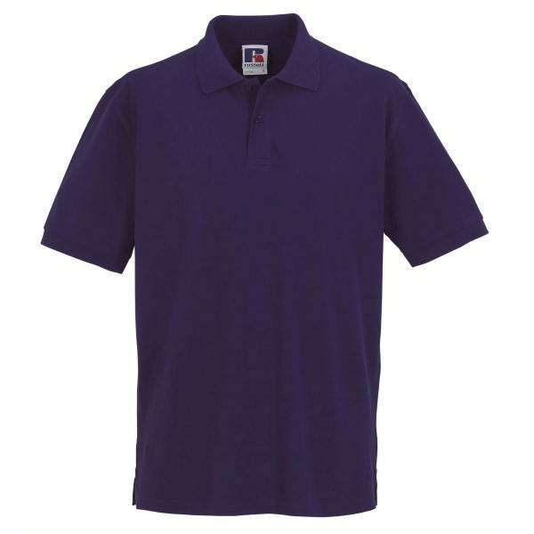 Russell Athletic M Classic Cotton Polo - Lilac  - Size: 569M - Color: violetti