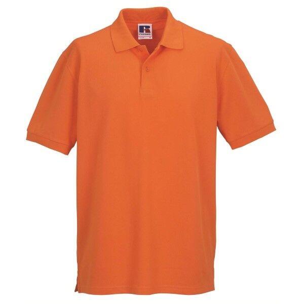 Russell Athletic M Classic Cotton Polo - Orange  - Size: 569M - Color: oranssi