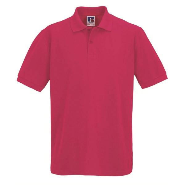 Russell Athletic M Classic Cotton Polo - Pink  - Size: 569M - Color: roosa