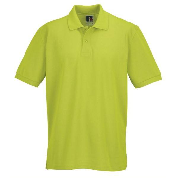 Russell Athletic M Classic Cotton Polo - Light green  - Size: 569M - Color: Vaaleanvihreä
