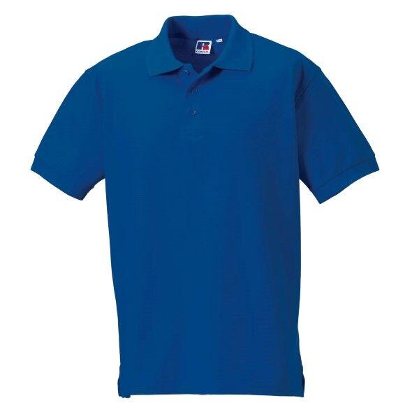 Russell Athletic M 100% Cotton Durable Polo - Blue  - Size: 577M - Color: sininen