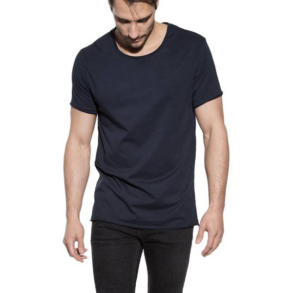 Bread & Boxers Bread and Boxers Crew Neck Relaxed - Navy-2