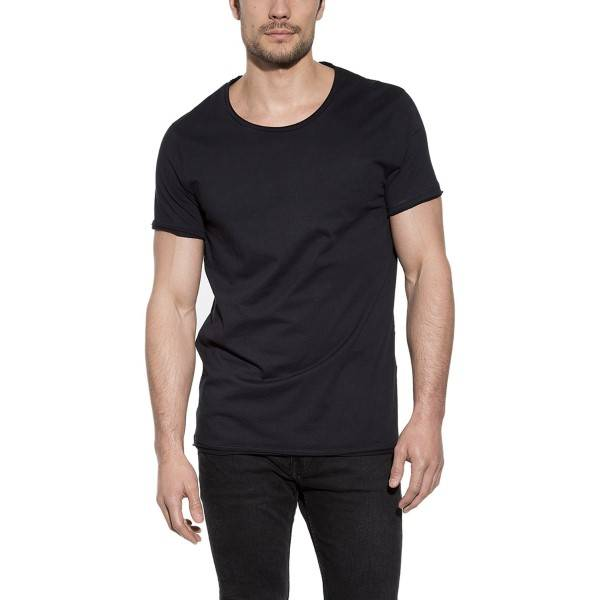 Bread & Boxers Bread and Boxers Crew Neck Relaxed - Black  - Size: 103302 - Color: musta