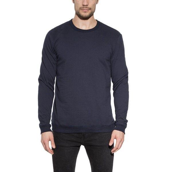 Bread & Boxers Bread and Boxers Sweatshirt - Navy-2  - Size: 414304 - Color: Merensininen