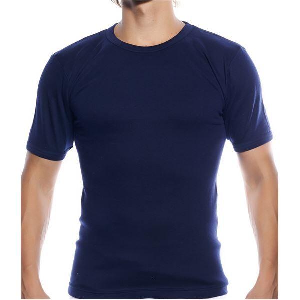 Resteröds Classic T-shirt Navy - Navy  - Size: 7150 - Color: Navy