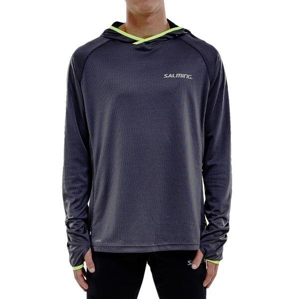 Salming Lightweight Hood Men - Grey  - Size: 1277653 - Color: harmaa