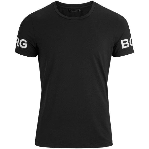 Björn Borg Performance Tee - Black  - Size: 9999-1140 - Color: musta