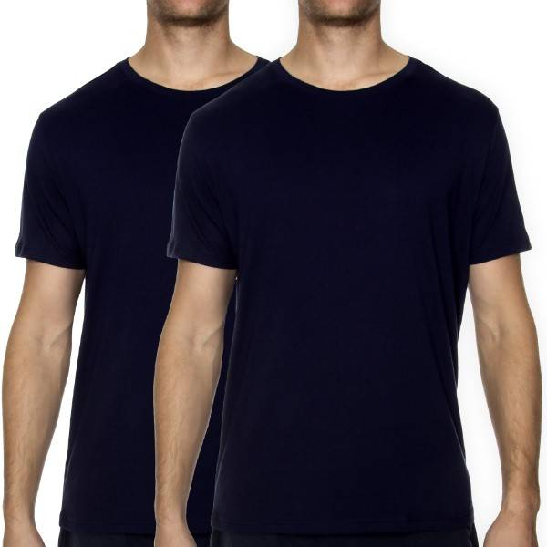 Image of Tommy Hilfiger 2 pakkaus TH2 CN Tee SS - Darkblue