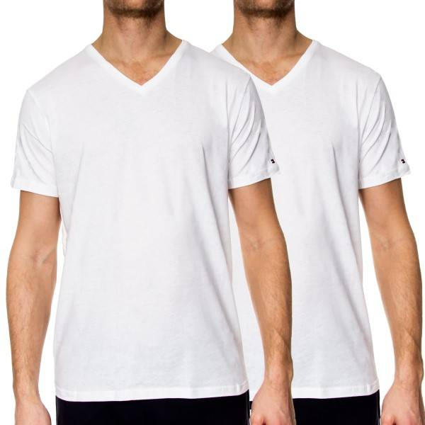 Image of Tommy Hilfiger 2 pakkaus TH2 VN Tee SS - White