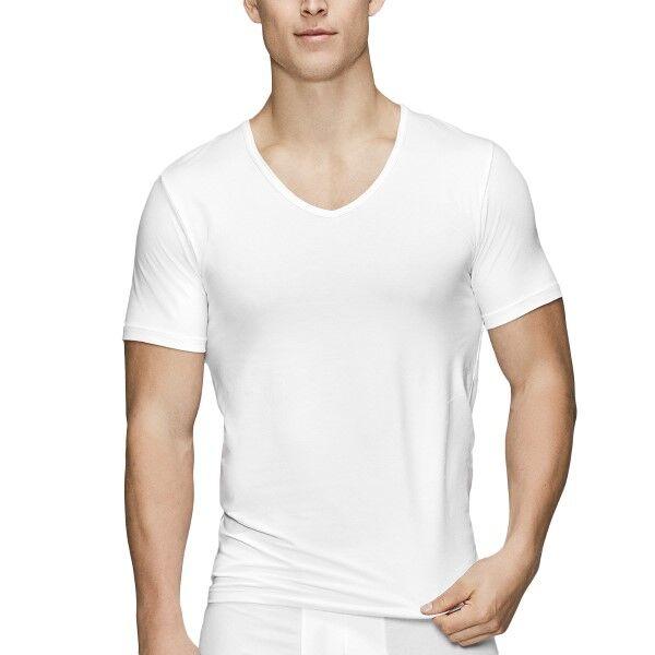 JBS of Denmark Organic Cotton V-neck T-shirt - White
