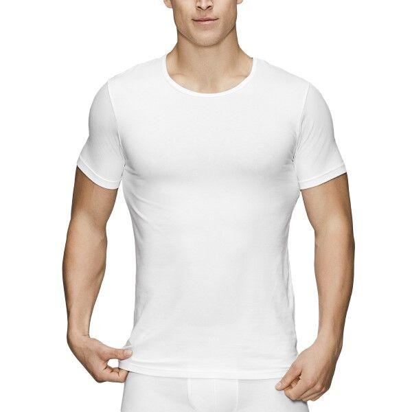 JBS of Denmark Organic Cotton O-neck T-shirt - White  - Size: 122-02 - Color: valkoinen