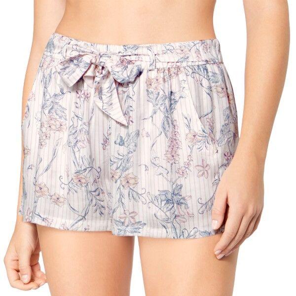 Triumph Lounge Me Natural Mix and Match Shorts - White Pattern-2 * Kampanja *  - Size: 10194929 - Color: Valk. kuviolli