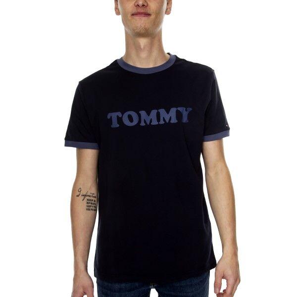 Tommy Hilfiger Sleep CN SS Tee Logo Shirt - Darkblue * Kampanja *  - Size: UM0UM01620 - Color: tummansin.