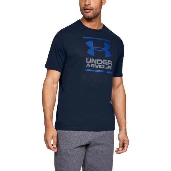 Under Armour GL Foundation SS T - Darkblue  - Size: 1326849 - Color: tummansin.