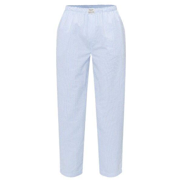 Resteröds Woven Pyjama Pants - Lt blue Stripe  - Size: 7997-92 - Color: Vaaleansininen raidallinen