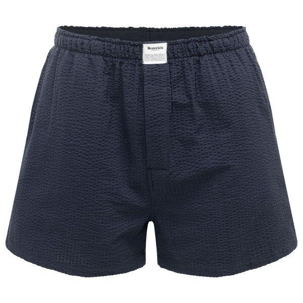 Resteröds Woven Pyjama Shorts - Darkblue  - Size: 7997-41 - Color: tummansin.