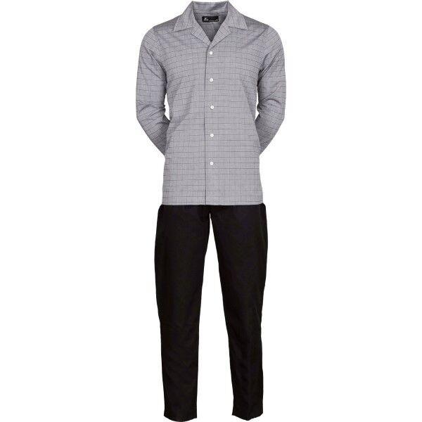 JBS Woven Pyjama - Grey/Black  - Size: 133-43 - Color: harmaa/musta