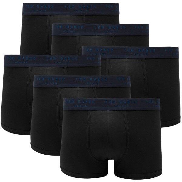 Ted Baker 6 pakkaus 24 7 Basics Trunk - Black  - Size: 170098 - Color: musta