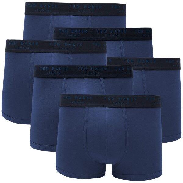 Ted Baker 6 pakkaus 24 7 Basics Trunk - Blue  - Size: 170098 - Color: sininen