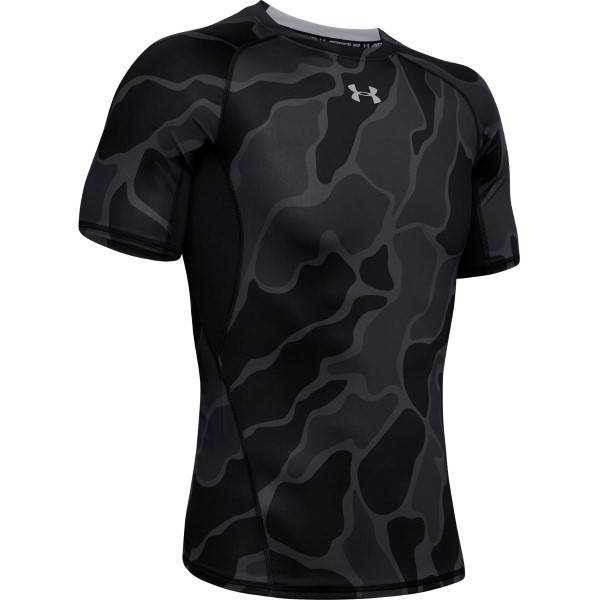 Under Armour HeatGear Short Sleeve T-Shirt - Black * Kampanja *  - Size: 1345722 - Color: musta