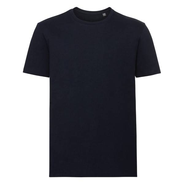 Russell Athletic Pure Organic Authentic Men T-shirt - Navy-2  - Size: 108M - Color: Merensininen