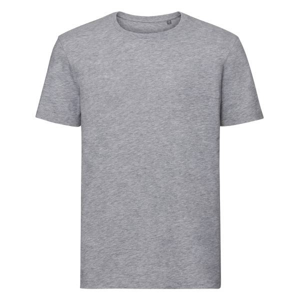 Russell Athletic Pure Organic Authentic Men T-shirt - Grey  - Size: 108M - Color: harmaa