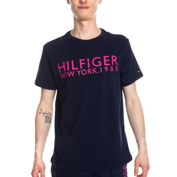 Tommy Hilfiger Modern Classic Tee Logo Shirt - Navy-2  - Size: UM0UM01172 - Color: Merensininen