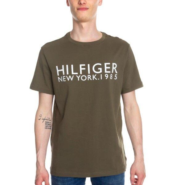 Tommy Hilfiger Modern Classic Tee Logo Shirt - Olive  - Size: UM0UM01172 - Color: oliivi