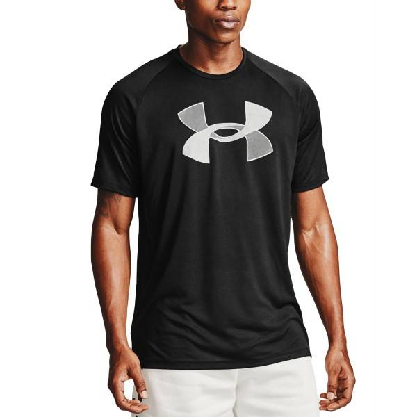 Under Armour Tech Big Logo T-shirt - Black  - Size: 1357234-001 - Color: musta