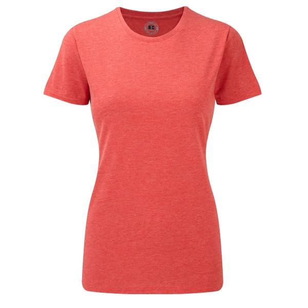 Russell Athletic Ladies HD Tee - Red  - Size: 165F - Color: punainen