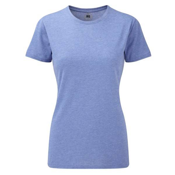 Russell Athletic Ladies HD Tee - Blue  - Size: 165F - Color: sininen