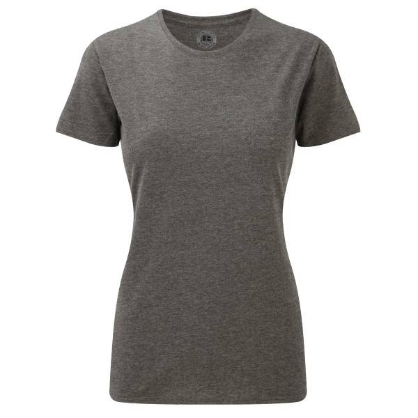 Russell Athletic Ladies HD Tee - Grey  - Size: 165F - Color: harmaa