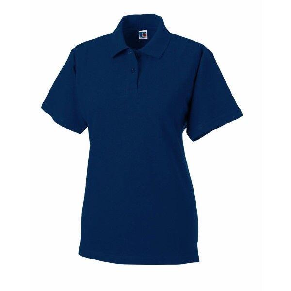 Russell Athletic F Classic Cotton Polo - Darkblue  - Size: 569F - Color: tummansin.