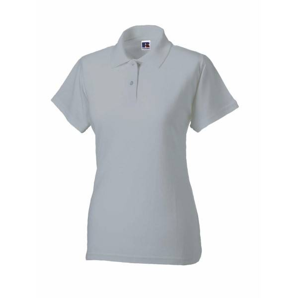 Russell Athletic F Classic Cotton Polo - Greymarl  - Size: 569F - Color: marmorinharm.