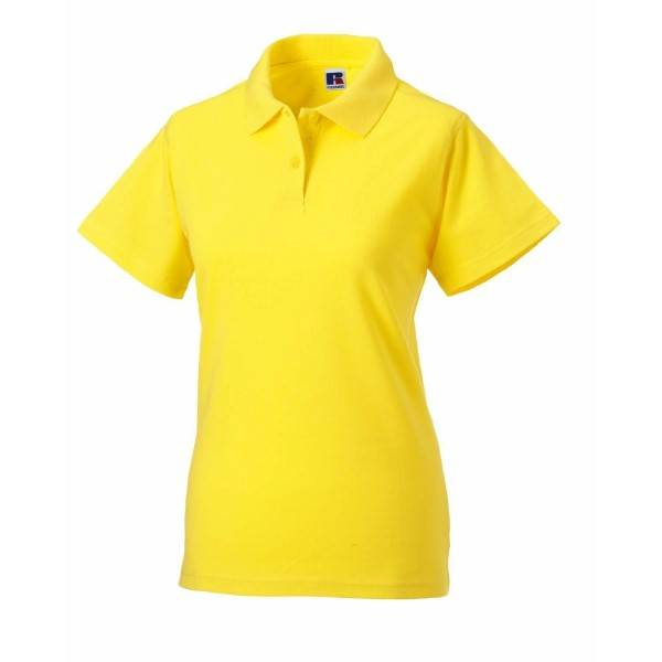 Russell Athletic F Classic Cotton Polo - Yellow  - Size: 569F - Color: keltainen