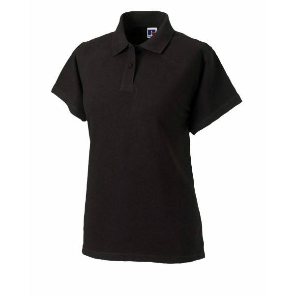 Russell Athletic F Classic Cotton Polo - Black  - Size: 569F - Color: musta