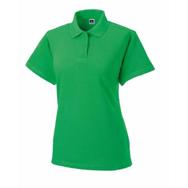 Russell Athletic F Classic Cotton Polo - Green  - Size: 569F - Color: vihreä