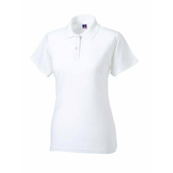 Russell Athletic F Classic Cotton Polo - White  - Size: 569F - Color: valkoinen
