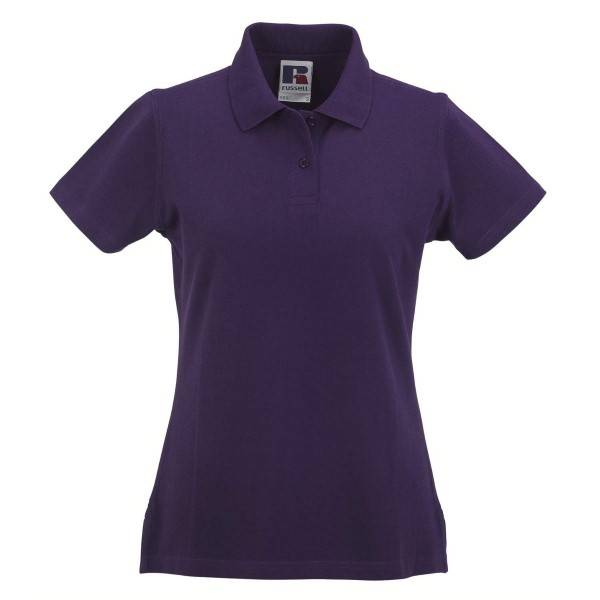 Russell Athletic F Classic Cotton Polo - Lilac  - Size: 569F - Color: violetti