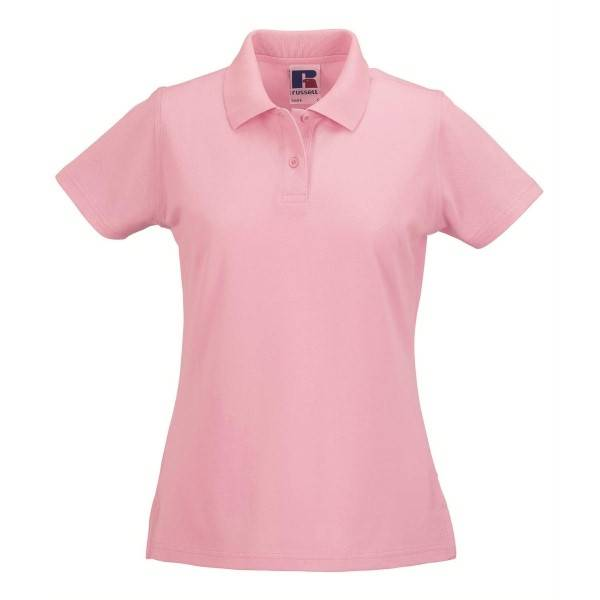 Russell Athletic F Classic Cotton Polo - Lightpink  - Size: 569F - Color: vaalea roosa