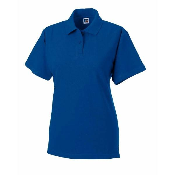 Russell Athletic F Classic Cotton Polo - Royalblue  - Size: 569F - Color: royalsininen