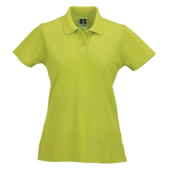 Russell Athletic F Classic Cotton Polo - Light green  - Size: 569F - Color: Vaaleanvihreä
