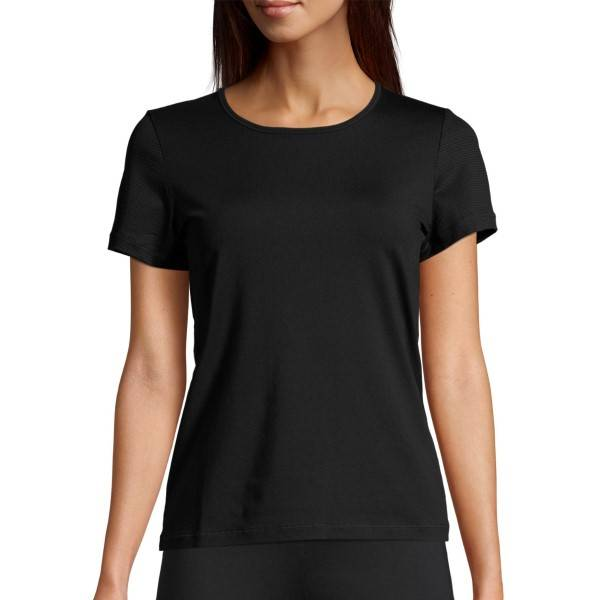 Casall Classic Training Tee - Black  - Size: 20451 - Color: musta