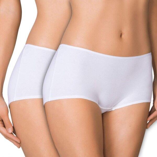 Calida 2 pakkaus Benefit Women Regular Panty - White