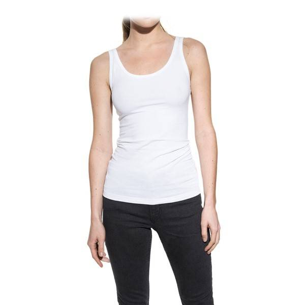 Bread & Boxers Bread and Boxers Tank Woman - White  - Size: 604101 - Color: valkoinen